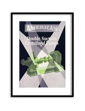 American Pumps | Vintage Retro Poster | Colour Factory Editions