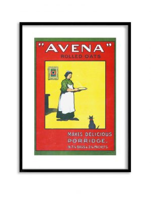 Avena | Vintage Retro Poster | Colour Factory Editions