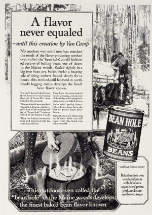 Beanhole Beans | Vintage Retro Poster | Colour Factory Editions