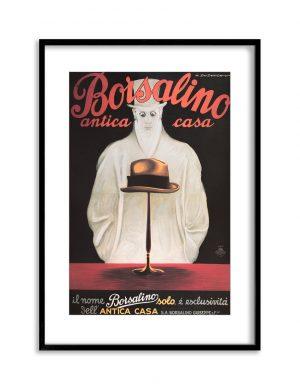Borsalino | Vintage Retro Poster | Colour Factory Editions