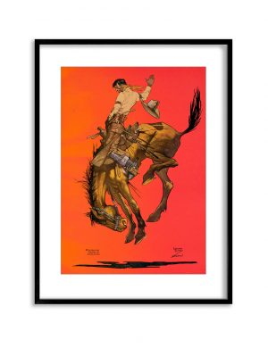 Bronco | Vintage Retro Poster | Colour Factory Editions