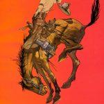 Bronco   Vintage Retro Poster   Colour Factory Editions