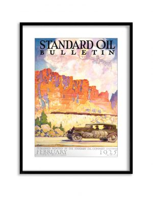 California Travels | Vintage Retro Poster | Colour Factory Editions