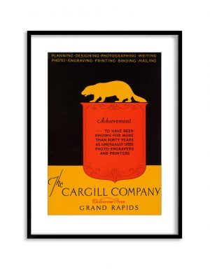 Cargill Co | Vintage Retro Poster | Colour Factory Editions