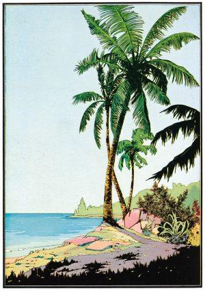 Castaway | Vintage Retro Poster | Colour Factory Editions