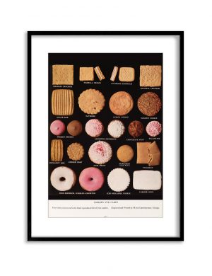 Cookie Collection | Vintage Retro Poster | Colour Factory Editions