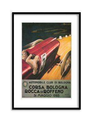 Corsa Bologna | Vintage Retro Poster | Colour Factory Editions
