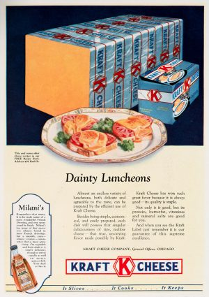Dainty Lunch | Vintage Retro Poster | Colour Factory Editions