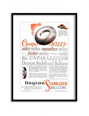 Dayton Smooth | Vintage Retro Poster | Colour Factory Editions