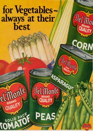 Del Monte | Vintage Retro Poster | Colour Factory Editions