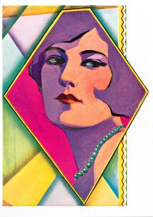 Diamond Mirror | Vintage Retro Poster | Colour Factory Editions