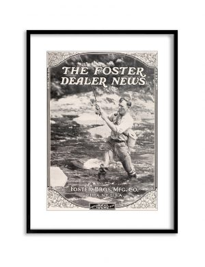Fisherman | Vintage Retro Poster | Colour Factory Editions