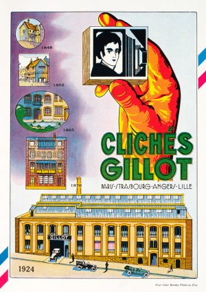 Gillot | Vintage Retro Poster | Colour Factory Editions