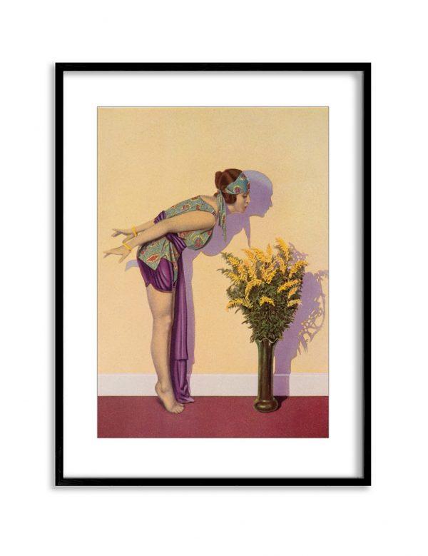 Golden Girl | Vintage Retro Poster | Colour Factory Editions