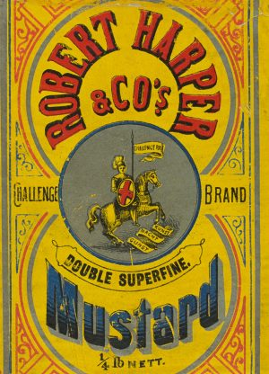 Harper Mustard | Vintage Retro Poster | Colour Factory Editions