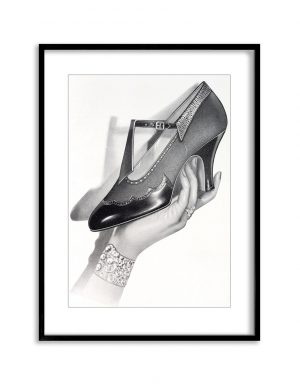 Her Shoe | Vintage Retro Poster | Colour Factory Editions