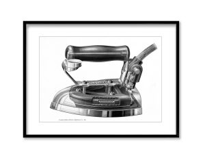 Hotpoint Iron | Vintage Retro Poster | Colour Factory Editions