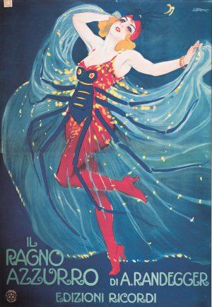 IL Ragno | Vintage Retro Poster | Colour Factory Editions