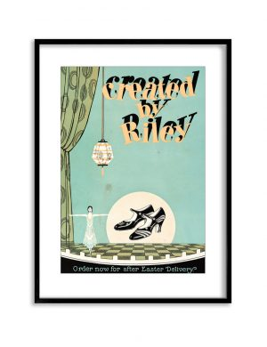 Created by Riley | Vintage Retro Poster | Colour Factory Editions