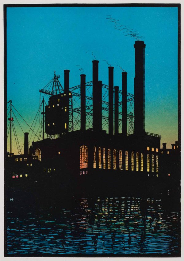 Light and Power | Vintage Retro Poster | Colour Factory Editions