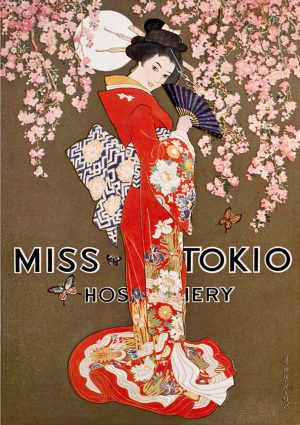 Miss Tokio | Vintage Retro Poster | Colour Factory Editions
