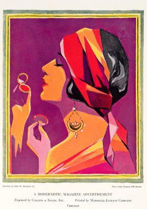 Modernistic | Vintage Retro Poster | Colour Factory Editions