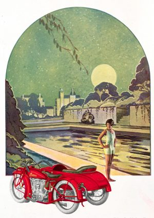 Night Rider | Vintage Retro Poster | Colour Factory Editions