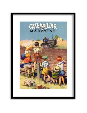 On The Farm | Vintage Retro Poster | Colour Factory Editions