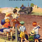 On The Farm   Vintage Retro Poster   Colour Factory Editions