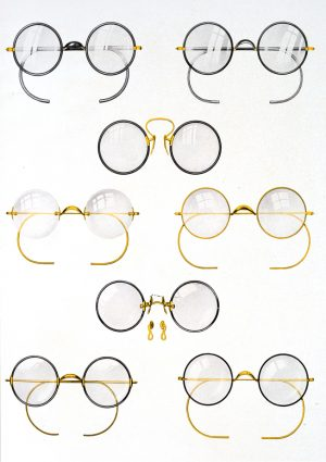 Spectacles | Vintage Retro Poster | Colour Factory Editions