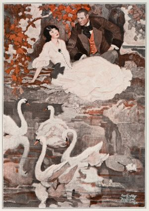 Swan Lake | Vintage Retro Poster | Colour Factory Editions