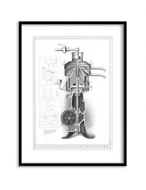 The Blueprint | Vintage Retro Poster | Colour Factory Editions