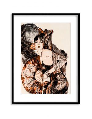 The Dancer | Vintage Retro Poster | Colour Factory Editions