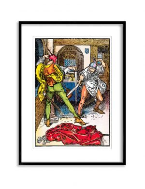 The Duel | Vintage Retro Poster | Colour Factory Editions
