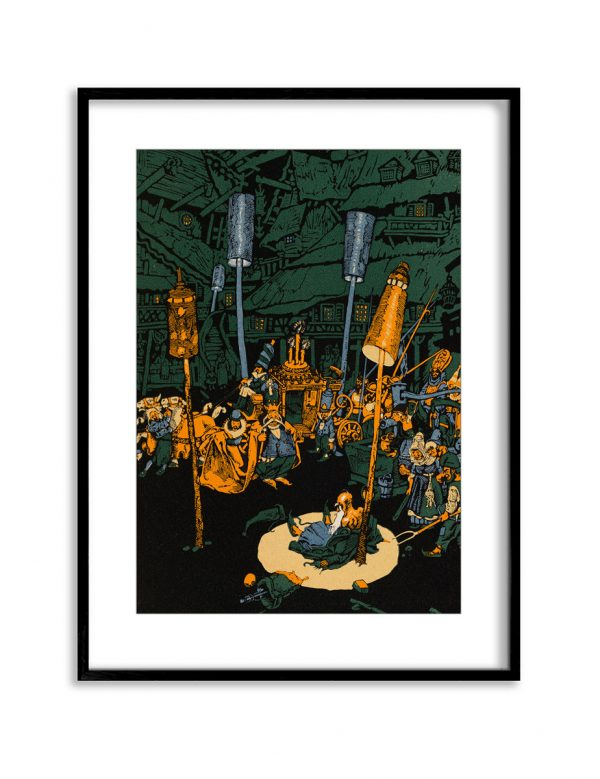 The King | Vintage Retro Poster | Colour Factory Editions