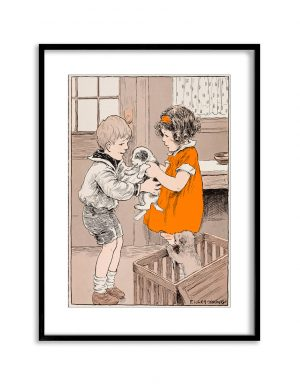 The Puppy | Vintage Retro Poster | Colour Factory Editions