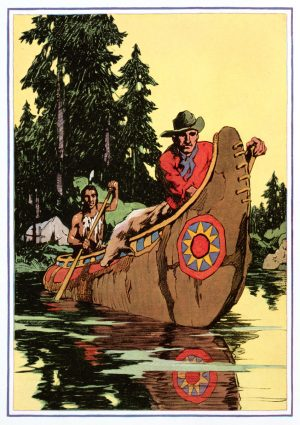 The River | Vintage Retro Poster | Colour Factory Editions