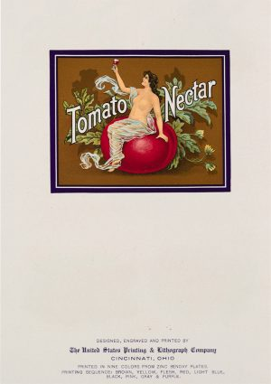 Tomato Nectar | Vintage Retro Poster | Colour Factory Editions