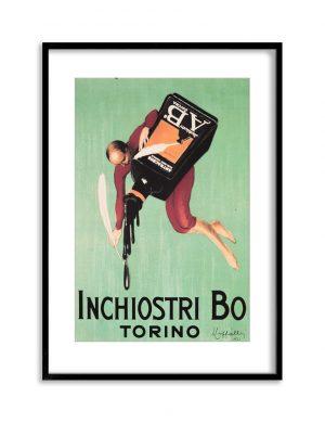 Torino | Vintage Retro Poster | Colour Factory Editions