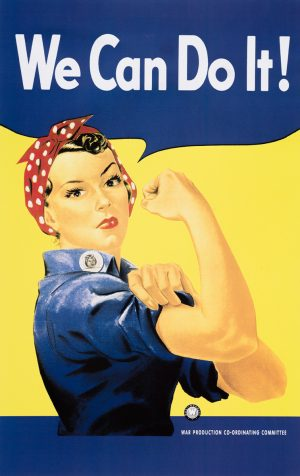We can do it | Vintage Retro Poster | Colour Factory Editions