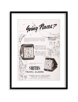 Going Places | Vintage Retro Poster | Colour Factory Editions