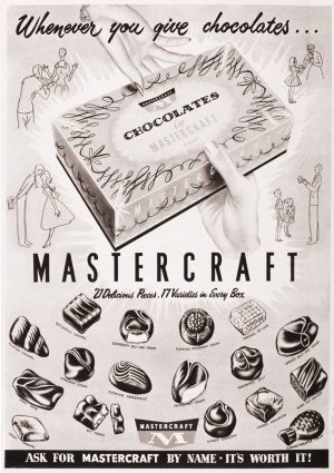 Mastercraft | Vintage Retro Poster | Colour Factory Editions
