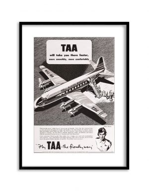 TAA | Vintage Retro Poster | Colour Factory Editions